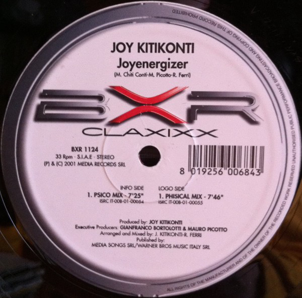 Joy Kitikonti – Joyenergizer (Physical Mix) [TECHNO/HARD TRANCE]