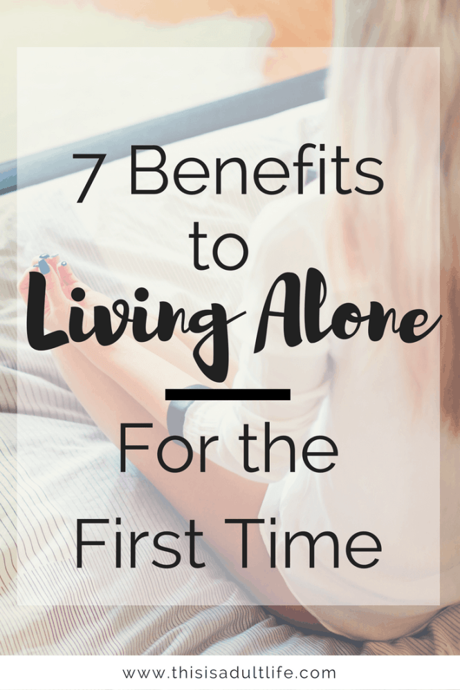 Benefits of Living Alone