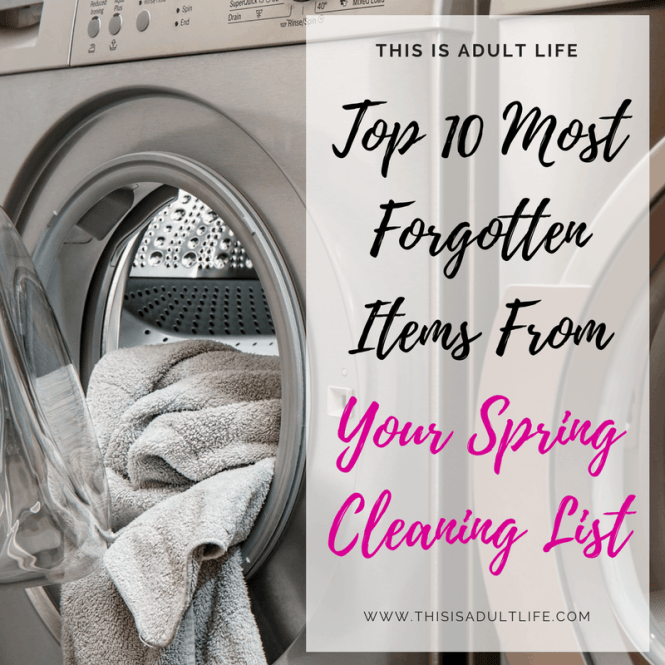 Top 10 Things for your Spring Cleaning List