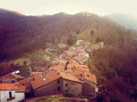 View of Trassilico (Lucca)