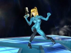 Samus Aran without her armor