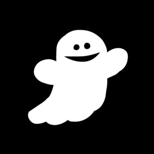 Ghostie is a happy ghost!
