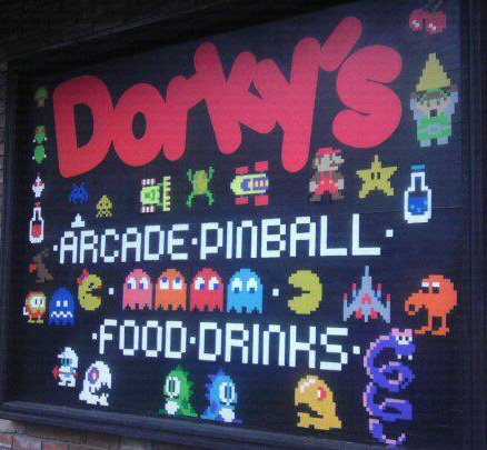 The Sign on the Side of Dorky's
