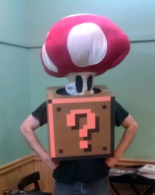 It's a-me! A Mushroom!