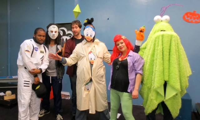 Foolish costumes.