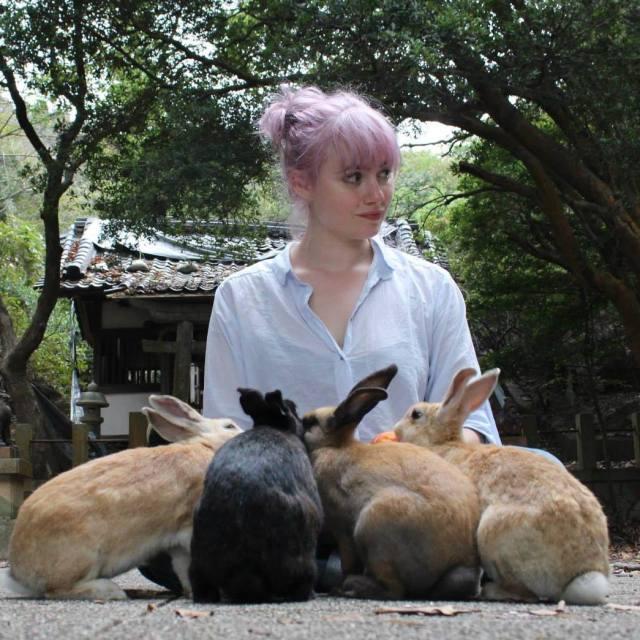 Miranda on Bunny Island