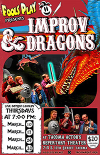 Fools Play presents: Improv & Dragons
