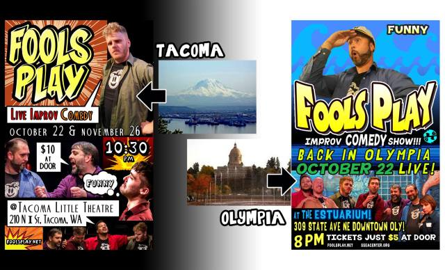 Tacoma or Olympia? YOU DECIDE!
