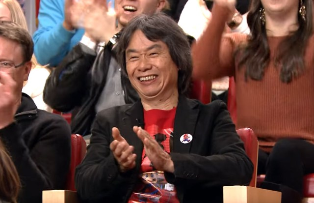 Miyamoto-san is so happy to be here!