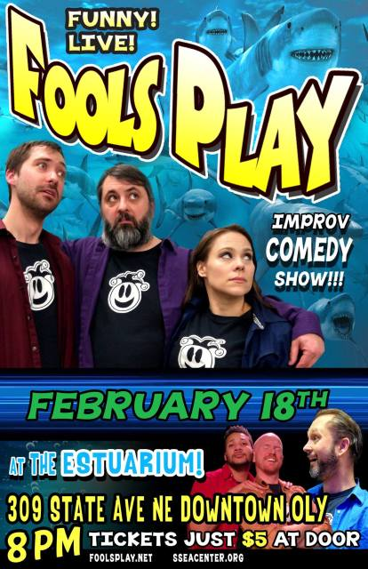 Fools Play on February 18th!