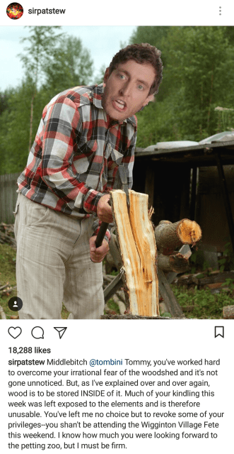 Wood-Chopping Middlebitch