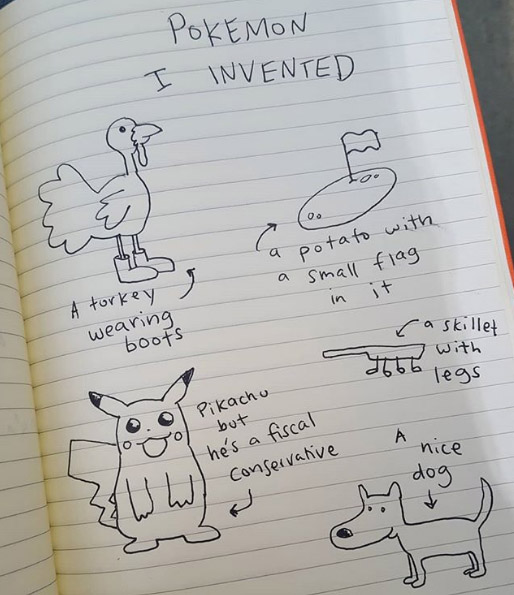 Pokemon I Invented.