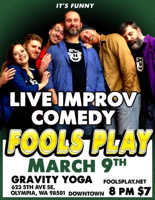 Fools Play Improv in Olympia March 2019