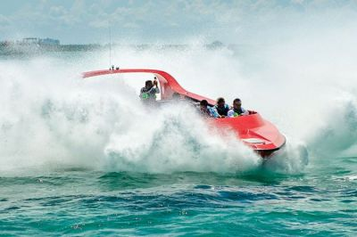 Passion Island by Jet Boat - This is Cozumel