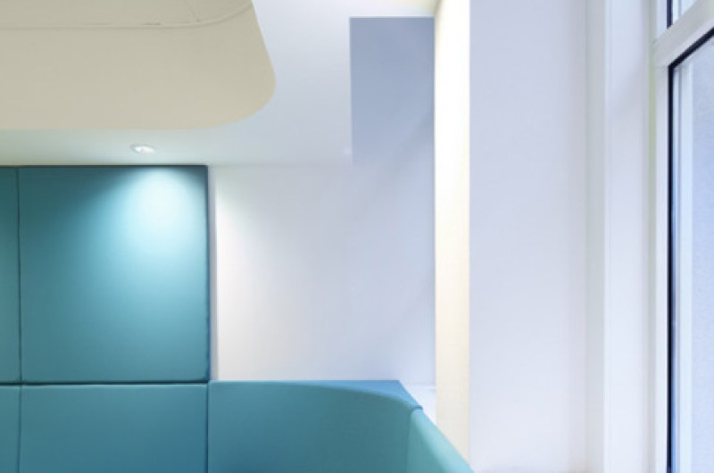 Impressions of the Children's Eye Center at Rotterdam Eye Hospital (Oogziekenhuis Rotterdam). Photo: Eklund Terbeek architecten