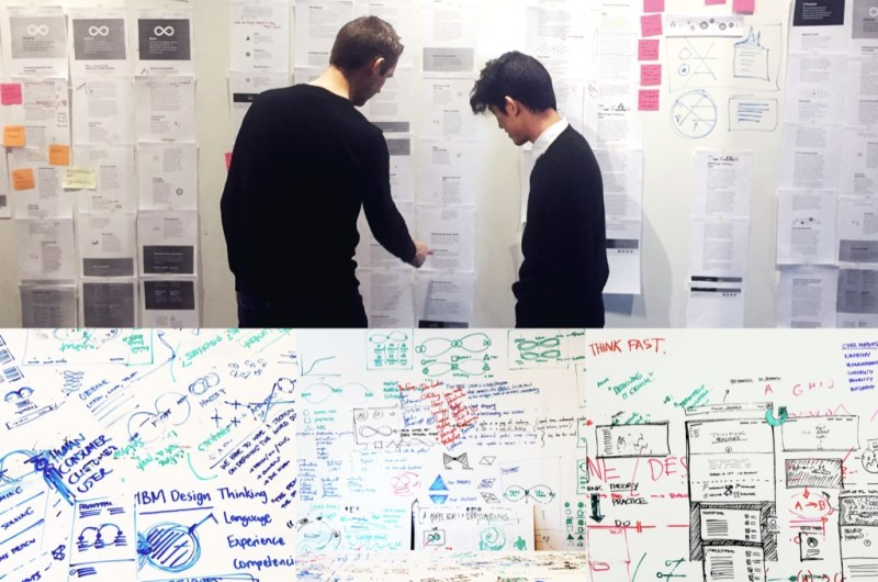IBM Design Thinking 2.0: Early Sketches