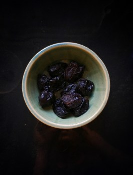 Prunes for texture and sweetness