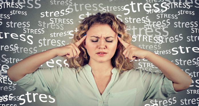 stress affects the ovaries and sex hormones
