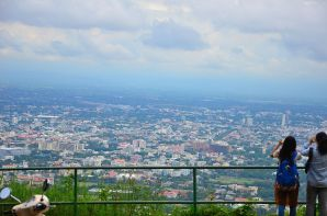 Chiang Mai from Wat Phra Doi Suthep.