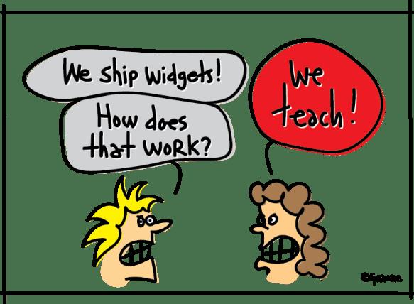 We ship widgets