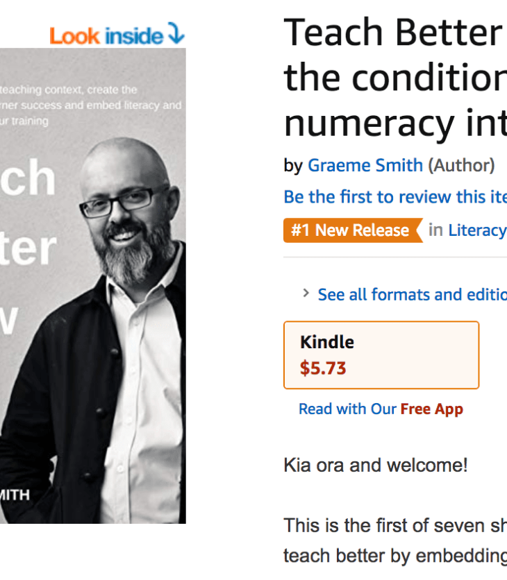 Teach better Now, the number one new release in Teaching, study and literacy by Graeme Smith