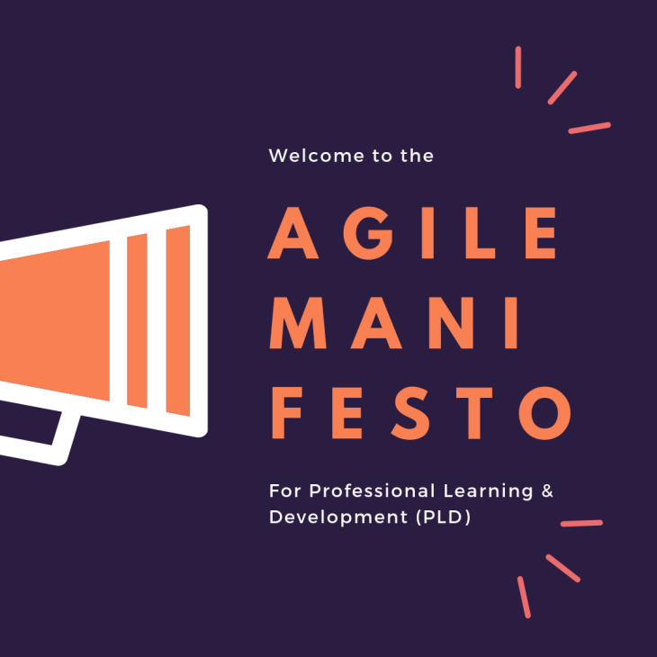 Agile Manifesto for Professional Learning and Development (PLD)