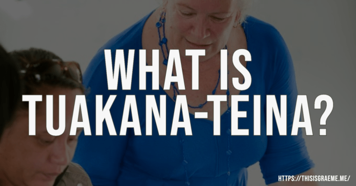 What is tuakana-teina?  Concepts from Te Ao Maori we use in education  tuakana teina