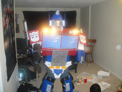 Optimus Prime Costume '10