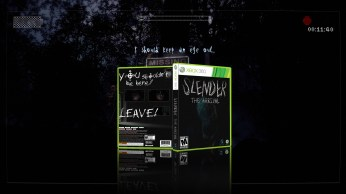 Slender The Arrival Cover Box Art Xbox 360