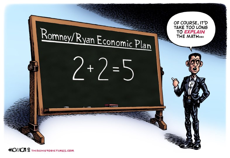 Romney/Ryan 'Rithmetic