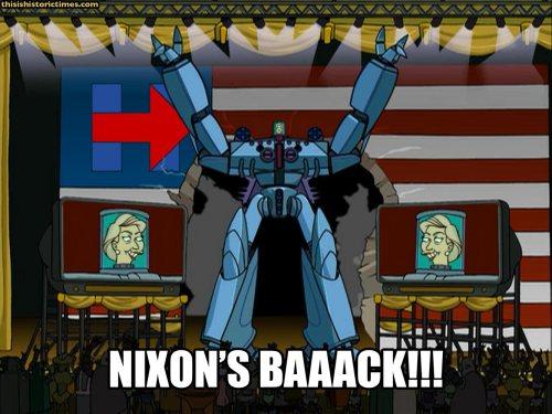 NIXON'S BAAACK!!!
