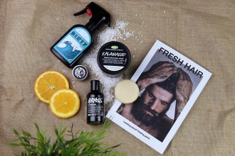 LUSH Cosmetics Photography Mens Range