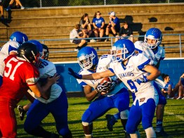 Larue County Scrimmage by Tim Girton