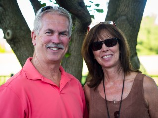 Mike and Kim Sanders.