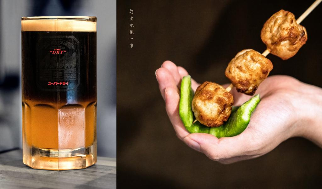 桃園藝文特區美食。Mr.Q炭火小酒館|特色居酒屋:無毒河豚與雞肉刺身的初體驗!