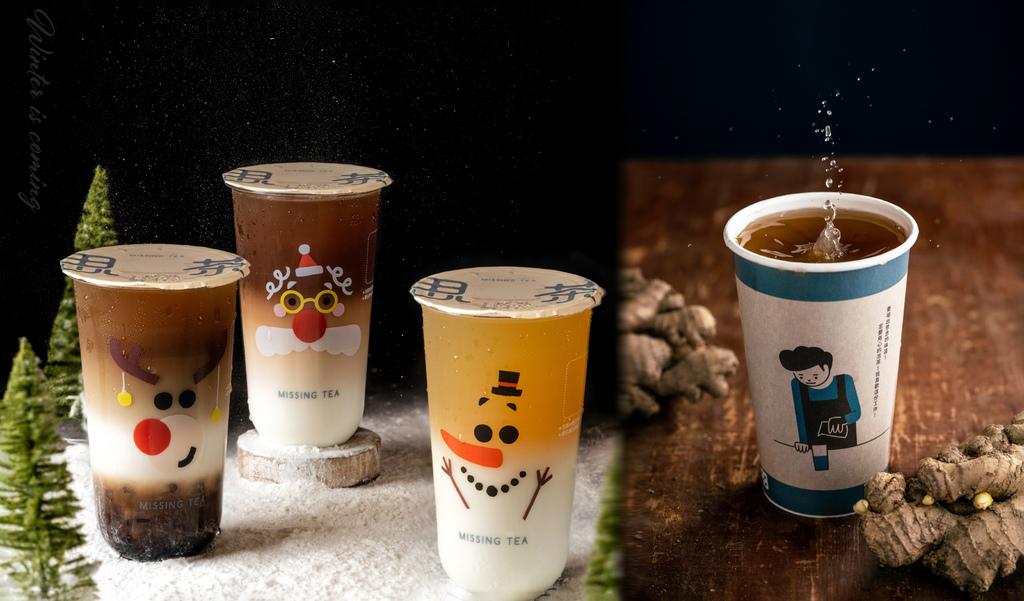 新竹飲料。思茶 竹北勝利店|三訪:暖呼呼的薑茶、聖誕限定杯