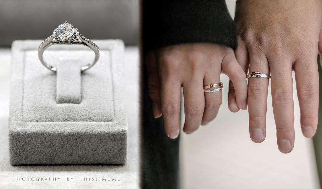 新竹戒指。Jewel Box 珠寶盒|新竹婚戒、日系婚戒