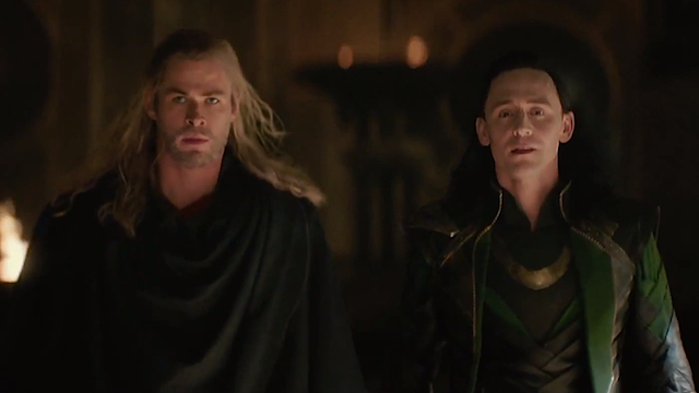 Thor and Loki: the uneasy alliance of brothers.