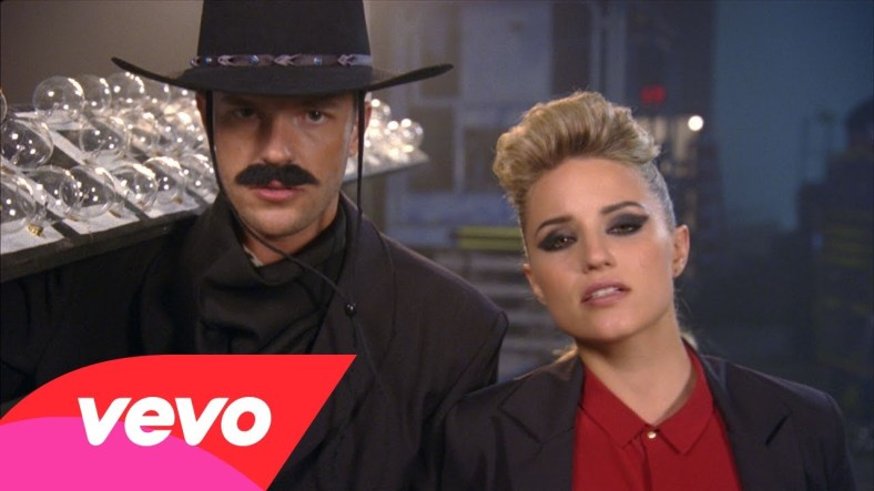 Who is the Real Flower? Diana Agron plays Brandon in the Killers' latest single, 'Just Another Girl.'