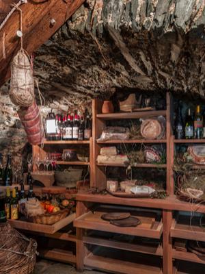 homemade root cellar