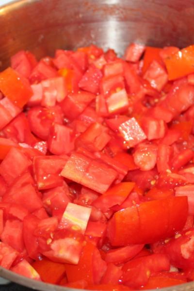 chopped tomatoes