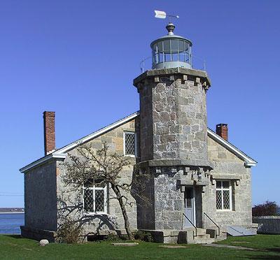Old Lighthouse Museum In Stonington