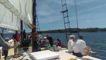 Sailing Past Fishers I