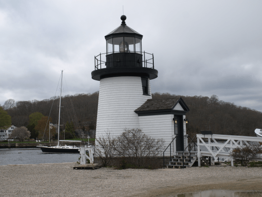 Lighthouse at Mystic Seaport