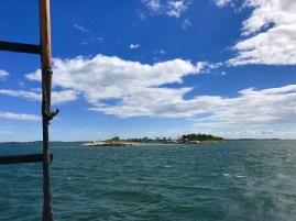 Ram Island (a private Mystic island) from Argia