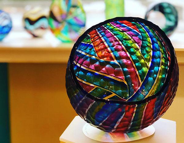 Jeffrey P'an blown glass art