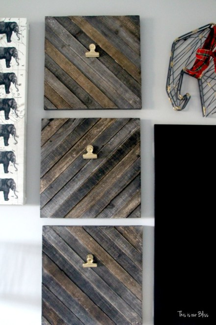 holiday gallery wall - playroom christmas decor progress pic - This is our Bliss