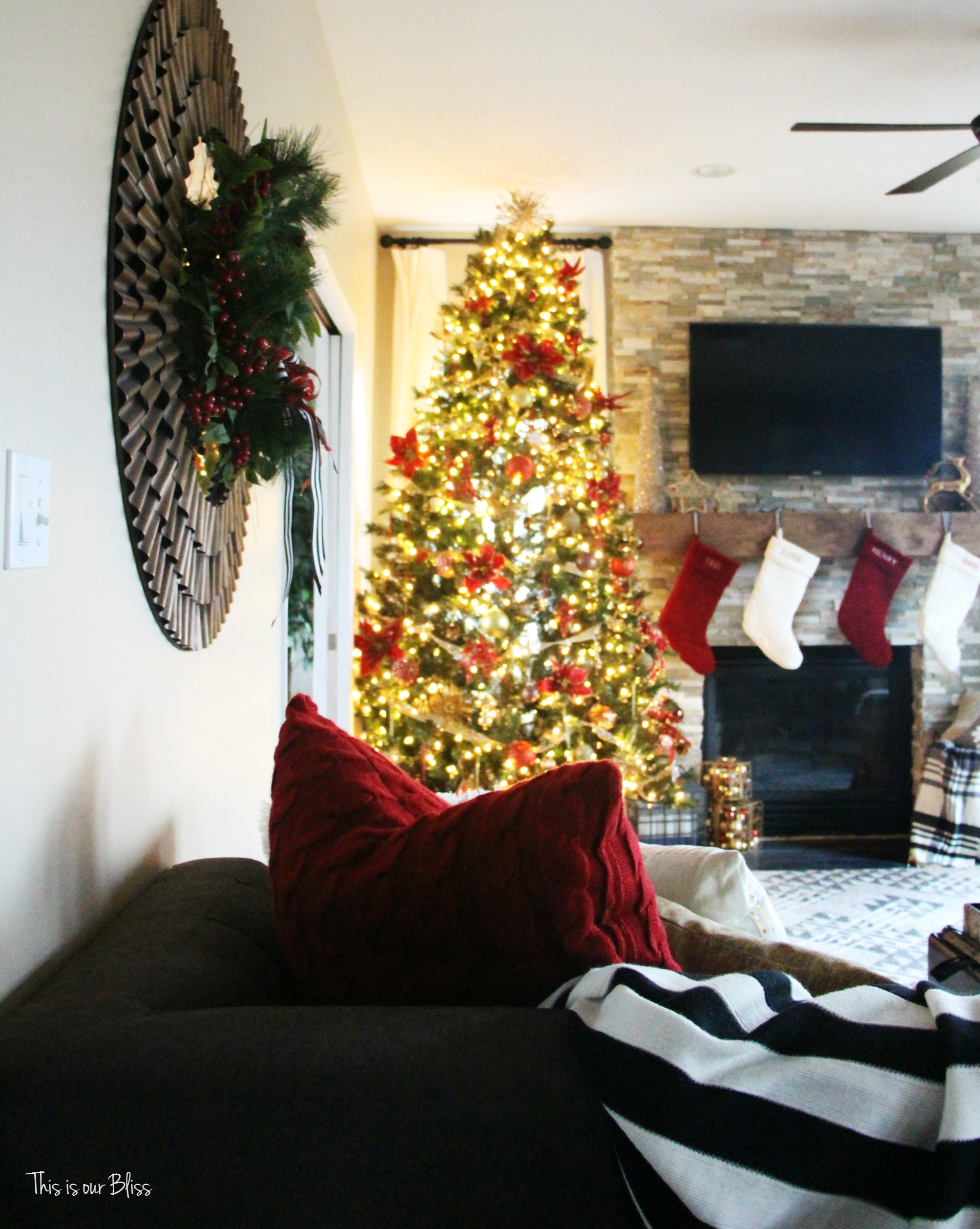 Uncategorized christmas decorations amp holiday decorations - So Since This House Is Decked And No One Else Will Be Seeing It Until The 25th I Thought I D Keep Sharing With You Let S Take A Peek Into Another Room Of
