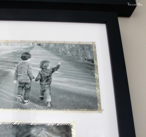 minted gold foil holiday photo gifts - This is our Bliss