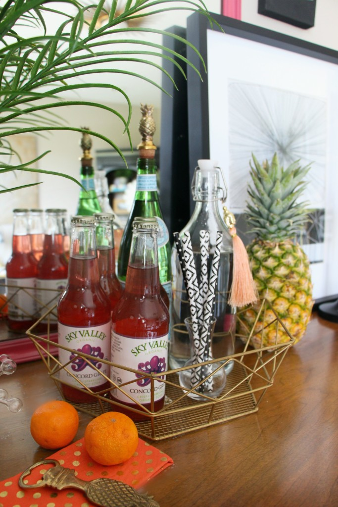 Eddie Ross Style | Inspired by DIY | Indoor summer bar Styling | This is our Bliss